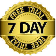 LinkedPhone 7-Day Free Trial Badge